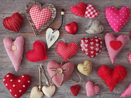 Поделки из ткани на день влюбленных своими руками